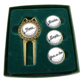 Divot Tool Set with Assorted Ballmarkers - Stencil