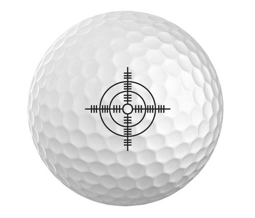 Crosshair Golf Ball - Set of 3
