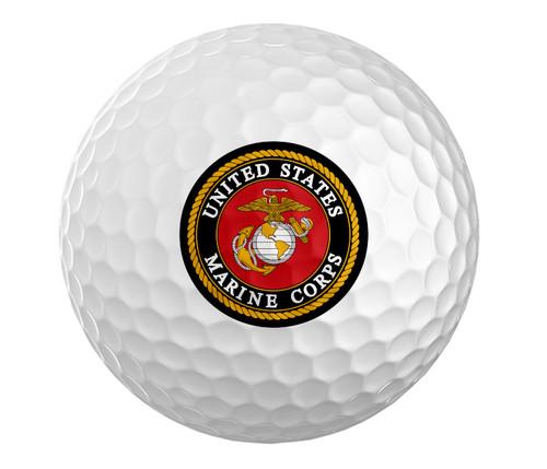 Marines Golf Ball - Set of 3