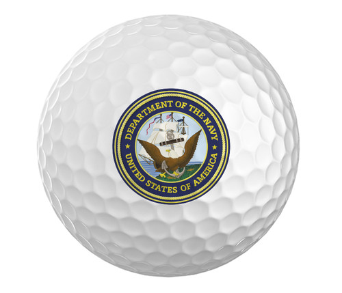 Navy Golf Ball - Set of 3