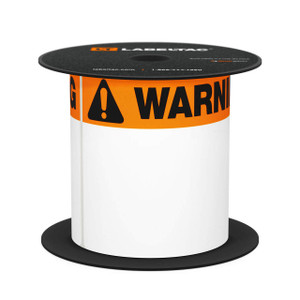 LabelTac® 4 and Pro Model Die-Cut Warning OSHA Header Roll