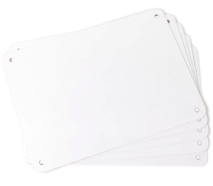 LabelTac® Aluminum Sign Blanks
