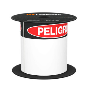 "LabelTac® 4 and Pro Model Peligro (Danger) Die-Cut Label Roll - 4""x6"""