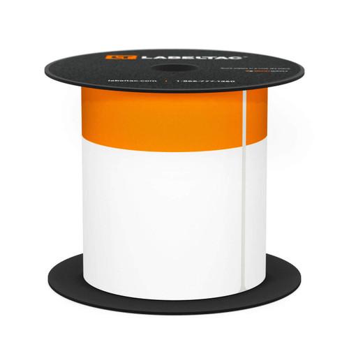 """LabelTac®4 and Pro Model Die-Cut """"Orange Header"""" Roll"""