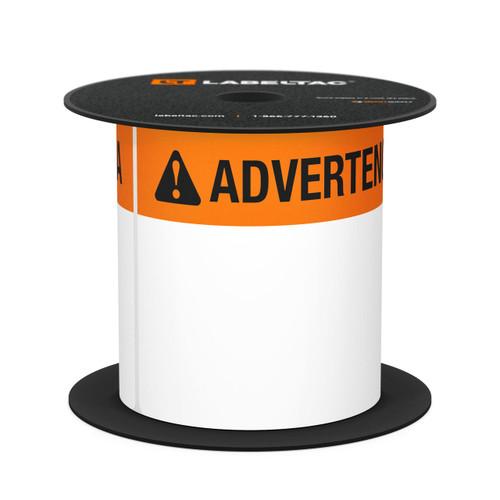 LabelTac® 4 and Pro Model Die-Cut Advertencia OSHA Header Roll