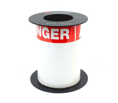 LabelTac 6 and LabelTac 9 Die-Cut Danger OSHA Header Roll