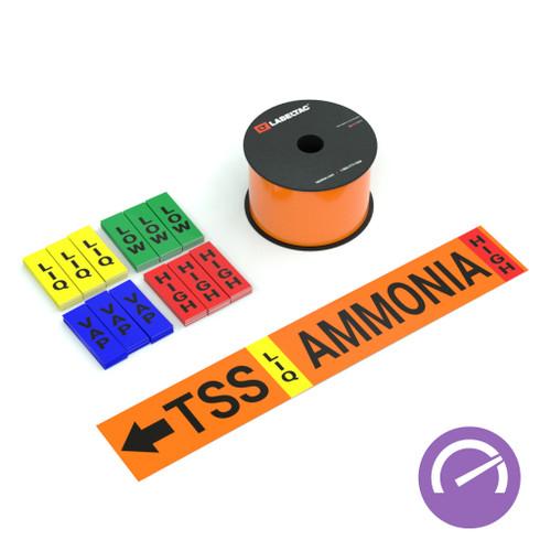 LabelTac® 4 Pro and Pro Model - Ammonia High Performance Supply Bundle