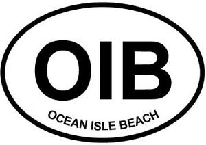 Ocean Isle Beach Sticker