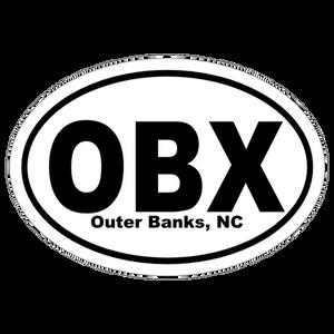 Classic Obx Oval Sticker