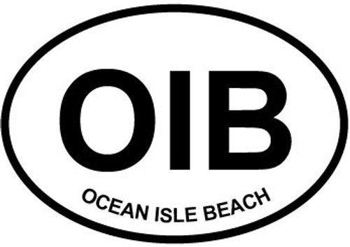 Ocean Isle Beach Sticker