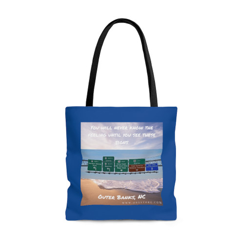 You Will Never Know the Feeling AOP Tote Bag