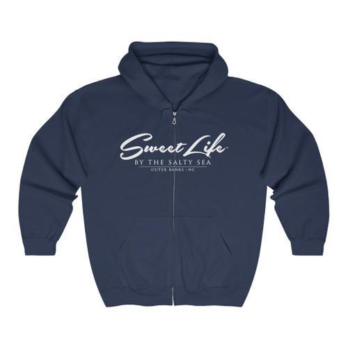 Sweet Life Unisex Heavy Blend™ Full Zip Hooded Sweatshirt
