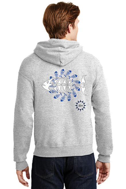 Outer Banks Bone Fish Hoodie