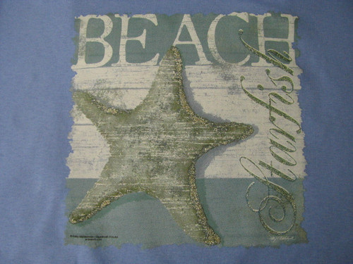 Outer Banks Starfish Missy Fit Tee OBX Beach T-shirt