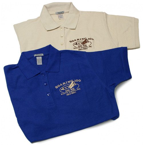 Wright Brothers Soaring 100 Womens Polo
