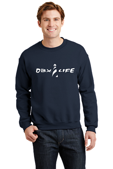 OBX Life Hatteras Lighthouse Sweatshirt Outer Banks North Carolina