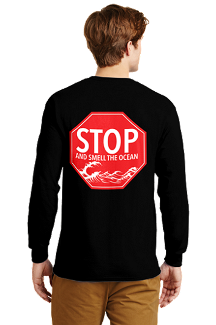 Stop and Smell the Ocean Long Sleeve T-Shirt