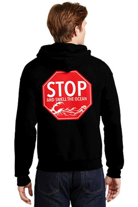 Stop and Smell the Ocean Hoodie Outer Banks OBX