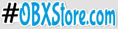 #OBXStore.com DECAL STICKER