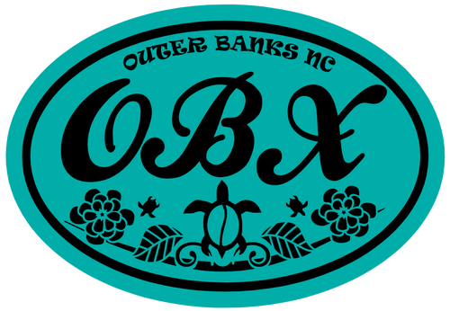 Outer Banks Sea Turtle Sticker