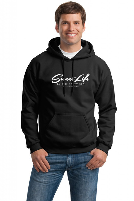 Hooded Sweat Shirt shown in Black