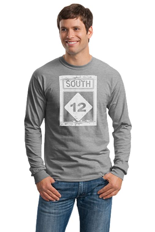 Highway 12 South Long Sleeve T-Shirt