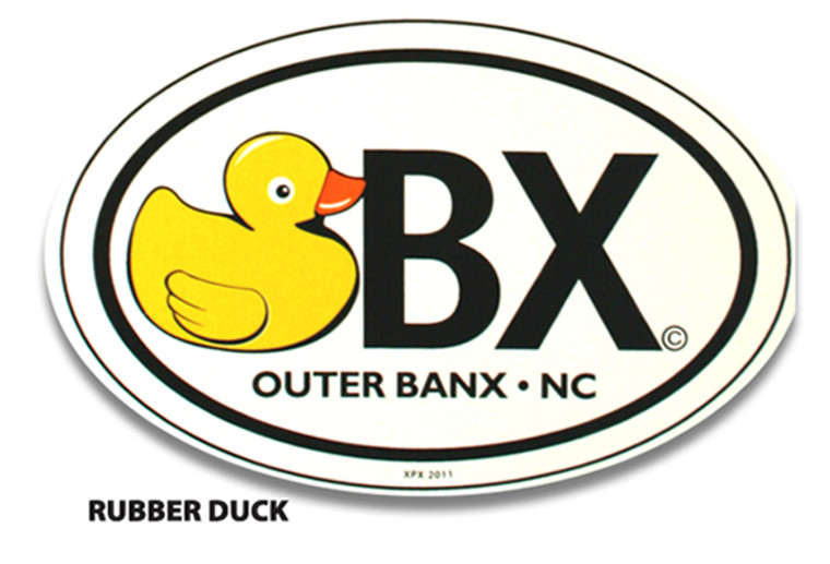 OBX Rubber Duck Sticker