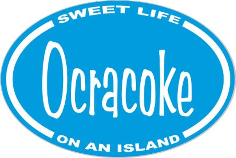 Ocracoke Sweet Life Sticker Decal