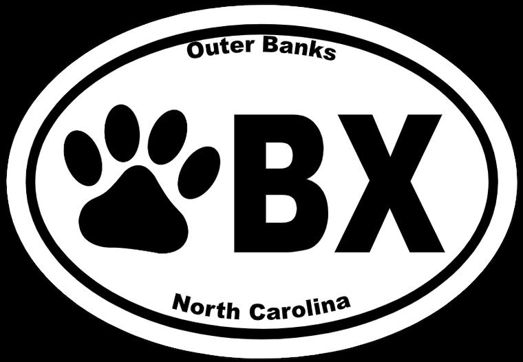 Obx Dog Paw Sticker