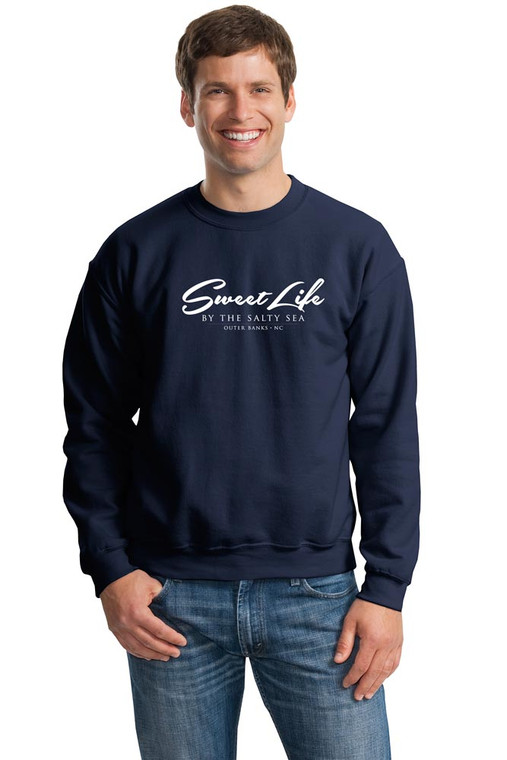 Sweat Shirt shown in Navy
