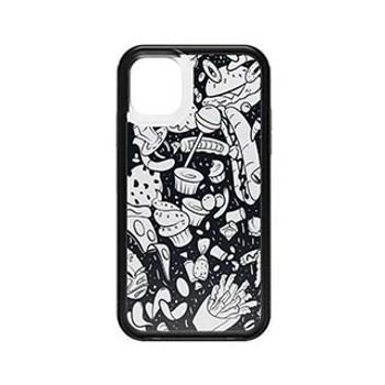 iPhone 11 LifeProof Black/White (Junk Food) Slam Series Case