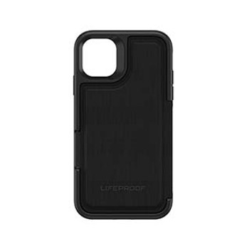 iPhone 11 LifeProof Black (Dark Knight) Flip Series Case