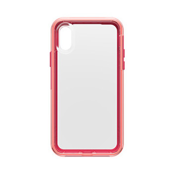 iPhone Xs LifeProof Pink/Pink (Coral Sunset) Slam case