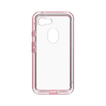 Google Pixel 3 LifeProof Clear/Pink (Cactus Rose) Next case