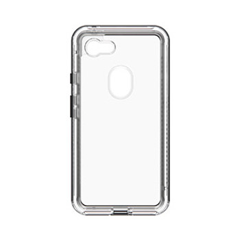 Google Pixel 3 XL LifeProof Clear/Black (Black Crystal) Next case