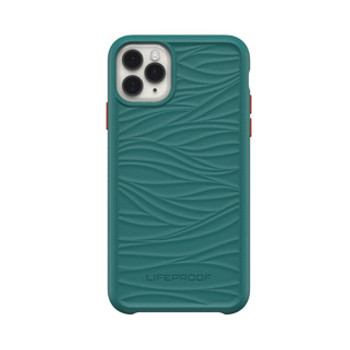 iPhone 11 Pro Max LifeProof Green/Red (Down Under) Wake Recycled Plastic Case