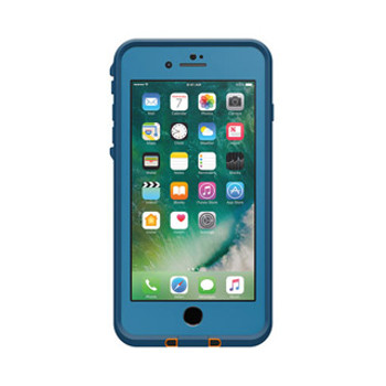 iPhone 7 Plus LifeProof Blue/Mango (Base Camp Blue) Fre case
