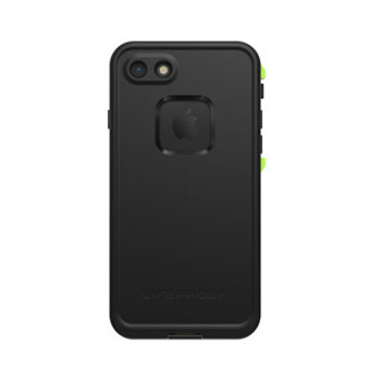 iPhone 8/7 LifeProof Black/Lime (Night Lite) Fre case