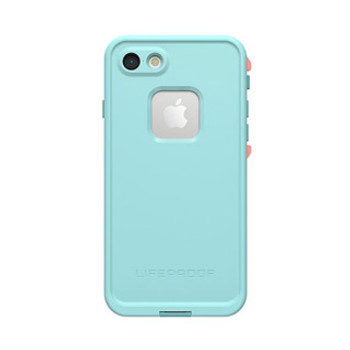 iPhone 8/7 LifeProof Blue/Coral (Wipeout) Fre case