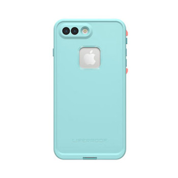 iPhone 8 Plus/7 Plus LifeProof Blue/Coral (Wipeout) Fre case