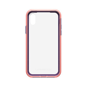 iPhone X LifeProof Pink/Purple (Free Flow) Slam case