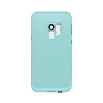 Samsung Galaxy S9 LifeProof Blue/Coral (Wipeout) Fre case
