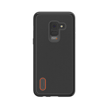 Samsung Galaxy A8 (2018) Gear4 D3O Black Battersea Grip Case