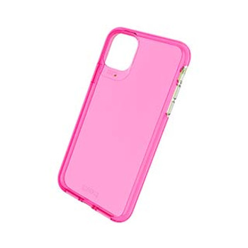 iPhone 11 Pro Max Gear4 D3O Pink Crystal Palace Neon Case