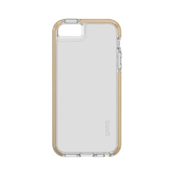 iPhone 5/5S/SE Gear4 D3O Clear Gold Piccadilly case