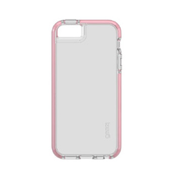 iPhone 5/5S/SE Gear4 D3O Clear/Rose Gold Piccadilly case