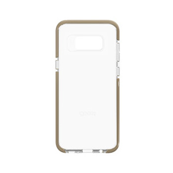 Samsung Galaxy S8 Plus Gear4 D3O Clear/Gold Piccadilly case