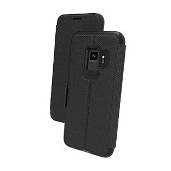 Samsung Galaxy S9 Gear4 D3O Black BookCase (Oxford)