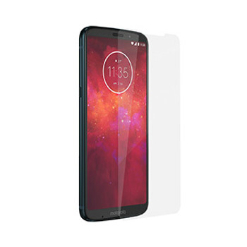 Motorola Moto Z3 Play Naztech Premium 2.5D HD Tempered Glass Screen Protector