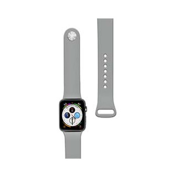 Apple Watch 44/42mm Naztech Grey (Concrete) Silicone Watch Band